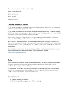 National Show Health Requirements-page0001